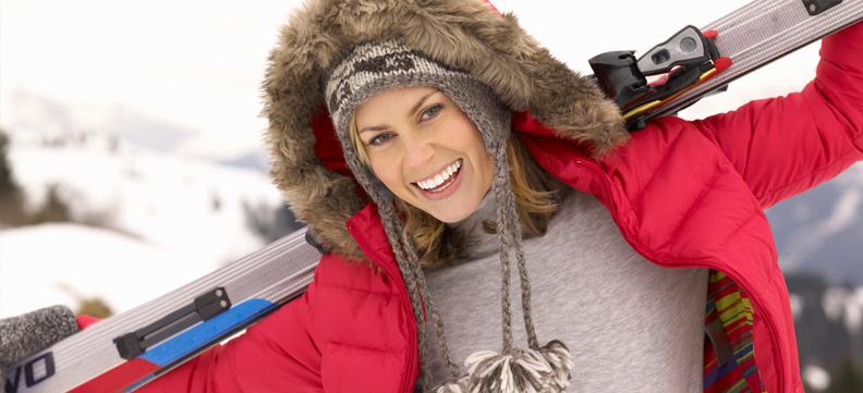 Vacanze sulla neve: che passione ma attenzione ai denti